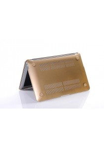 Crystal Case for Macbook Air 11.6 Front & Back - Gold