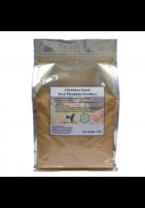 Christmas Island Rock Phosphate (CIRP) Organic Fertilizer 2Kg (Brown)