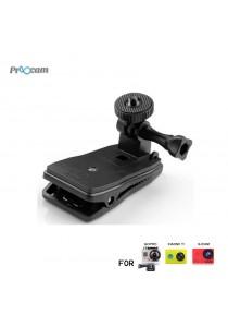Proocam Pro-J200 Action Camera Clip Bag 360 degree Rotatable Holder
