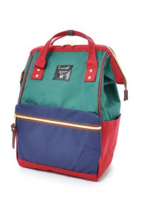 100% Authentic Anello (Mini) Backpack - Polyester Canvas Mix Color
