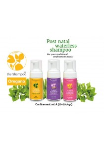 Natural Waterless Shampoo 350 (Confinement set A)