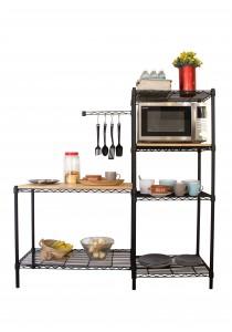Vetop Storage Cooking Station Kits - Black