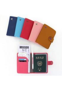 {JMI} Monopoly Mini Journey No Skimming Passport Case V3 0044#