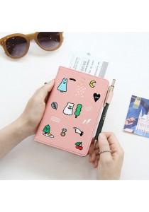 {JMI} GMZ Trendy Passport Wallet 0046#