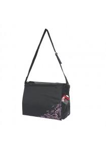 Dogit Style Nylon Messenger Dog Carry Bag - Urban - Black