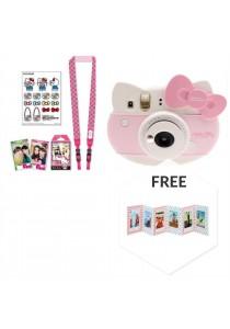 Fujifilm Instax Mini Kitty Package (Instax Mini Kitty + Kitty Strap + Kitty Film + Kitty Sticker + Accordion Photo Frame)