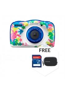 Nikon COOLPIX W100 Marine + 8GB + Case (Original Malaysia Warranty)