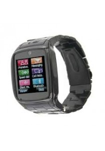 TW810 Smart Watch Phone Stainless Steel Black with Camera FUL BLACK