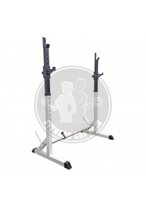 Fitness Gym Adjustable Barbell Stand Squat Rack ( Latest )