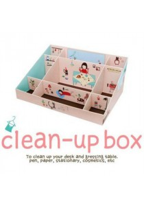 DIY Table Clean Up Box