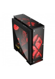 Segotep T5 Mid Tower ATX Casing - Black