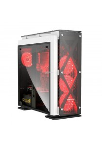 Segotep T5 Mid Tower ATX Casing - White