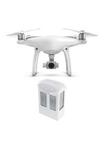 DJI Phantom 4 Quadcopter Drone + Extra Battery