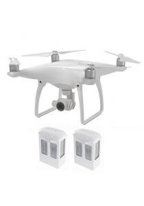DJI Phantom 4 Quadcopter Drone + 2 Extra Battery
