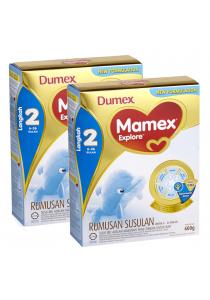 2 Units Dumex Mamex Explore 2 (6-36 Month) 600g