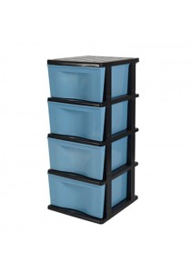 Felton Trendy Plastic 4 Drawer Storage