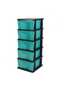 Felton Trendy Plastic 5 Drawer Storage