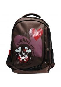 Disney Retro Minnie Backpack DRB1270 (Coffee)