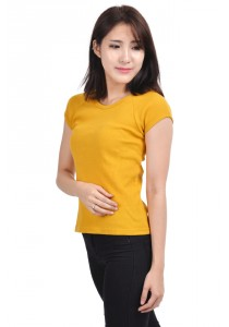 ViQ Ladies Fashion Top (Yellow)