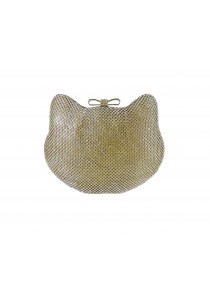 Jacque Kitty Clutch (Gold)