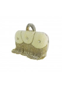 Jacque Betty Clutch (Gold)