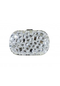 Jacque Macy Clutch (White)