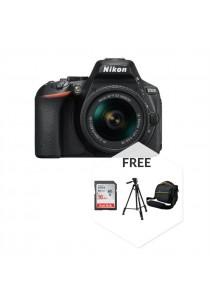 Nikon D5600 (AF-P DX 18-55MM VR) + 16GB Ultra Class10 + Bag + Tripod (Original Malaysia Warranty)