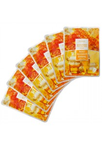Deoproce Color Synergy Effect Sheet Mask Set of 6 (Yellow)