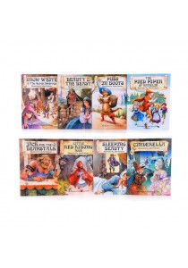 Young Children English Story Books The Brothers Grimm Fairy Tales (set of 8)