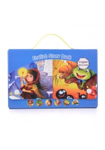 Children English Story Book Design 6 (Set Of 6 : Blue Set)