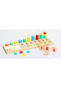 Montessori Mathematical Numbers & Matching Puzzles