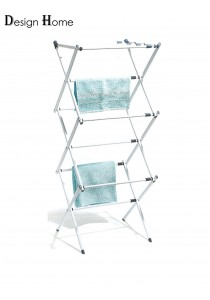 DESIGN HOME Easy Carrying Household Essentials Expandable Drying Rack