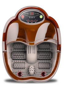 Detox Foot Spa Massager Six Roller Bubble Heating