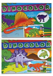 Dinocolor (Blue and Red)