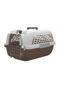 Dogit Voyageur Dog Carrier - Brown/White - Xlarge