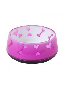 Dogit & Catit Home Non-Skid Bowl - Pink - 300 ml