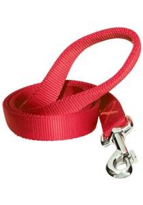 Dogit Single Ply Nylon Training Dog Leash - Red - Medium (6 ft)