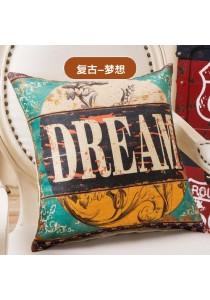Pillow Case / Cushion Cover, 45cm x 45cm - Dream