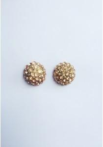 LaBelleD. P. Jeweled Hydrangea Earrings