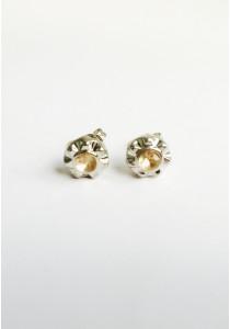 LaBelleD. S. Sunburst Crystal Stud Earrings