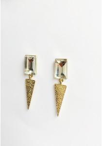 LaBelleD. G. Modish Glitzy Geo Earrings