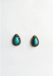 LaBelleD. B. Teardrop Vintage Earrings