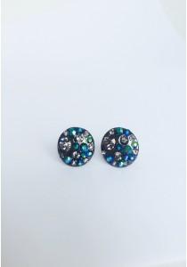 LaBelleD. B. Smokey Fox Edgy Earrings