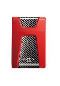 Adata HD650 500GB USB3.0 External Hard Drive - Red