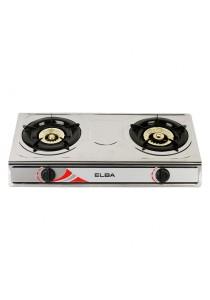 ELBA 2 Burner Gas Stove ELB-5260SS