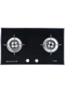 ELBA 2 Burner Built-in Hob (Cast Iron Finished) EGH-B8242G(BK)