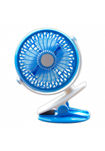 Baby Stroller USB Rechargeable Clip Fan