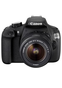 Canon EOS 1200D EF-S 18-55 IS II KIT Camera (Black) + 8GB + Camera Bag