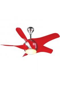Alpha F420/5B Red Ceiling Fan 42