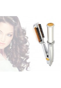 Alpha Living The Rotating Iron Instant Straightens Curls and Add Hair Volume (FCT0090)